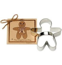 Ann Clark Cookie Cutter Holiday Gingerbread Boy with Recipe Card, TRAD