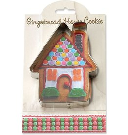 Ann Clark Cookie Cutter Holiday Gingerbread House with Recipe Card, MMC