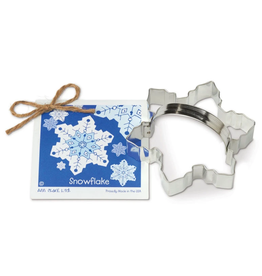 Ann Clark Cookie Cutter Holiday Snowflake with Recipe Card, TRAD
