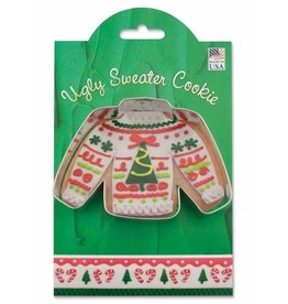 Ann Clark Cookie Cutter Holiday Ugly Sweater with Recipe Card, MMC