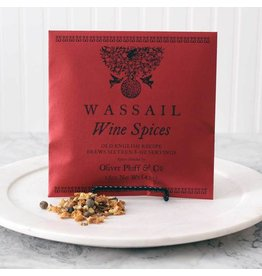 Oliver Pluff Holiday Wine Spices Wassail 1.5oz