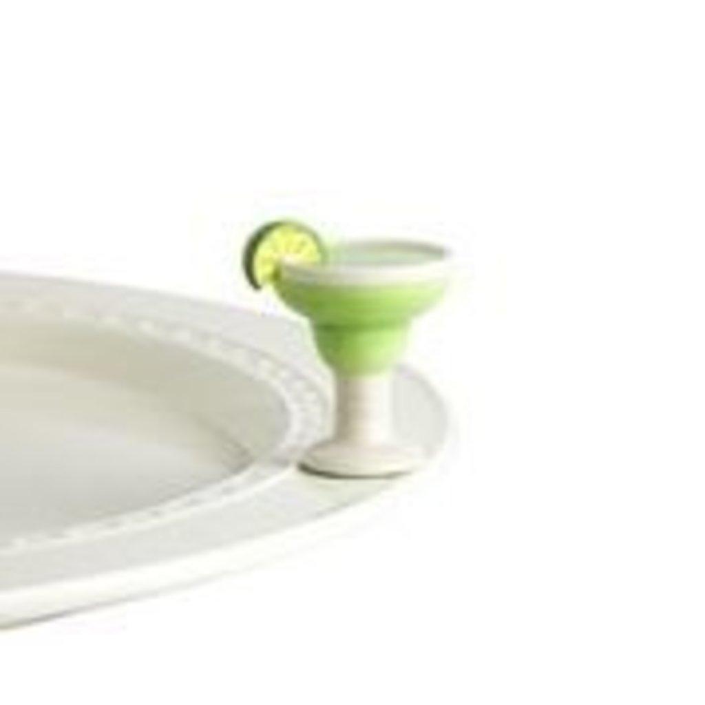 nora fleming lime & salt, please! mini (margarita)