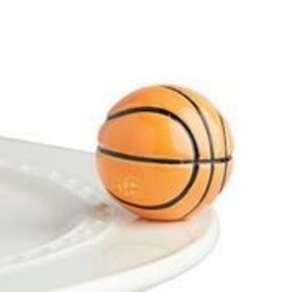 nora fleming hoop, there it is! mini (basketball)