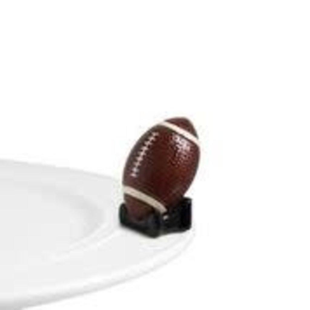 nora fleming touchdown! mini (football)