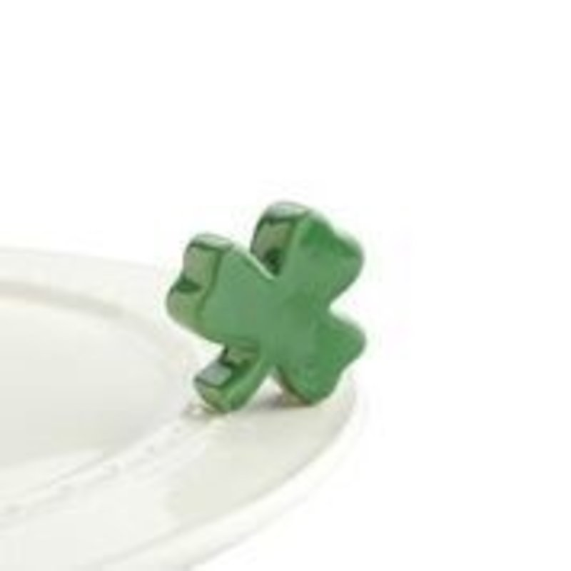 nora fleming irish at heart mini (shamrock)