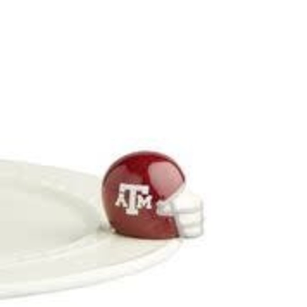 nora fleming texas a&m helmet mini