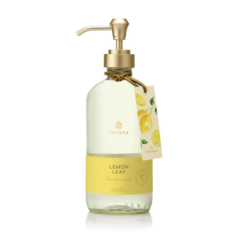 Thymes Lemon Leaf Large Hand Wash