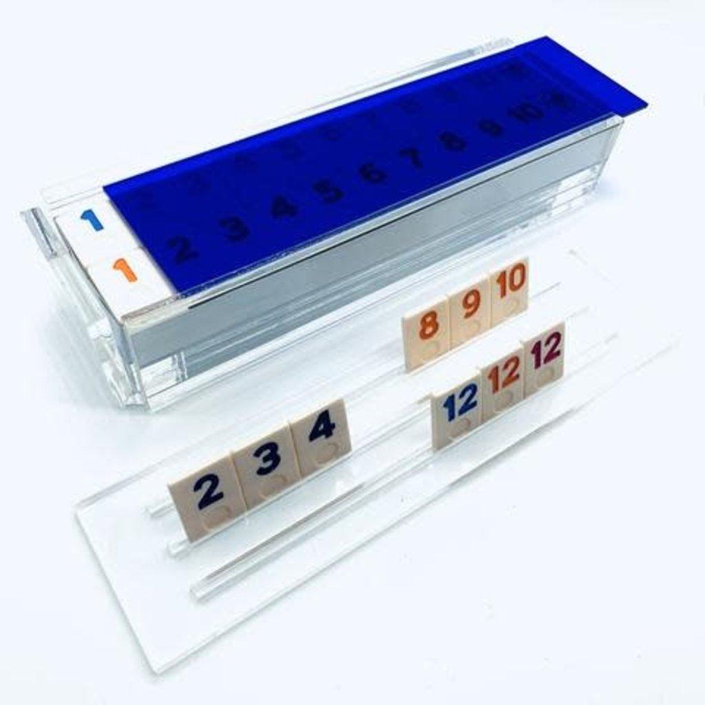 Luxe Dominoes Luxe Rummy Tile Game El Rumi Blue