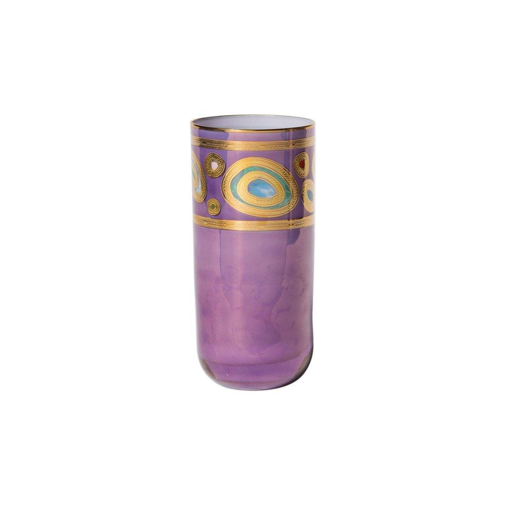 Vietri Regalia Purple Highball