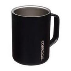 Corkcicle 16 Ounce Matte Black Mug
