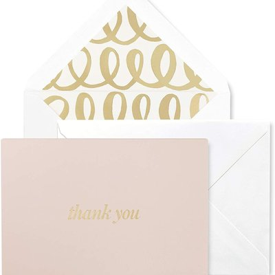 Kate Spade kate spade new york thank you note card, heart knot