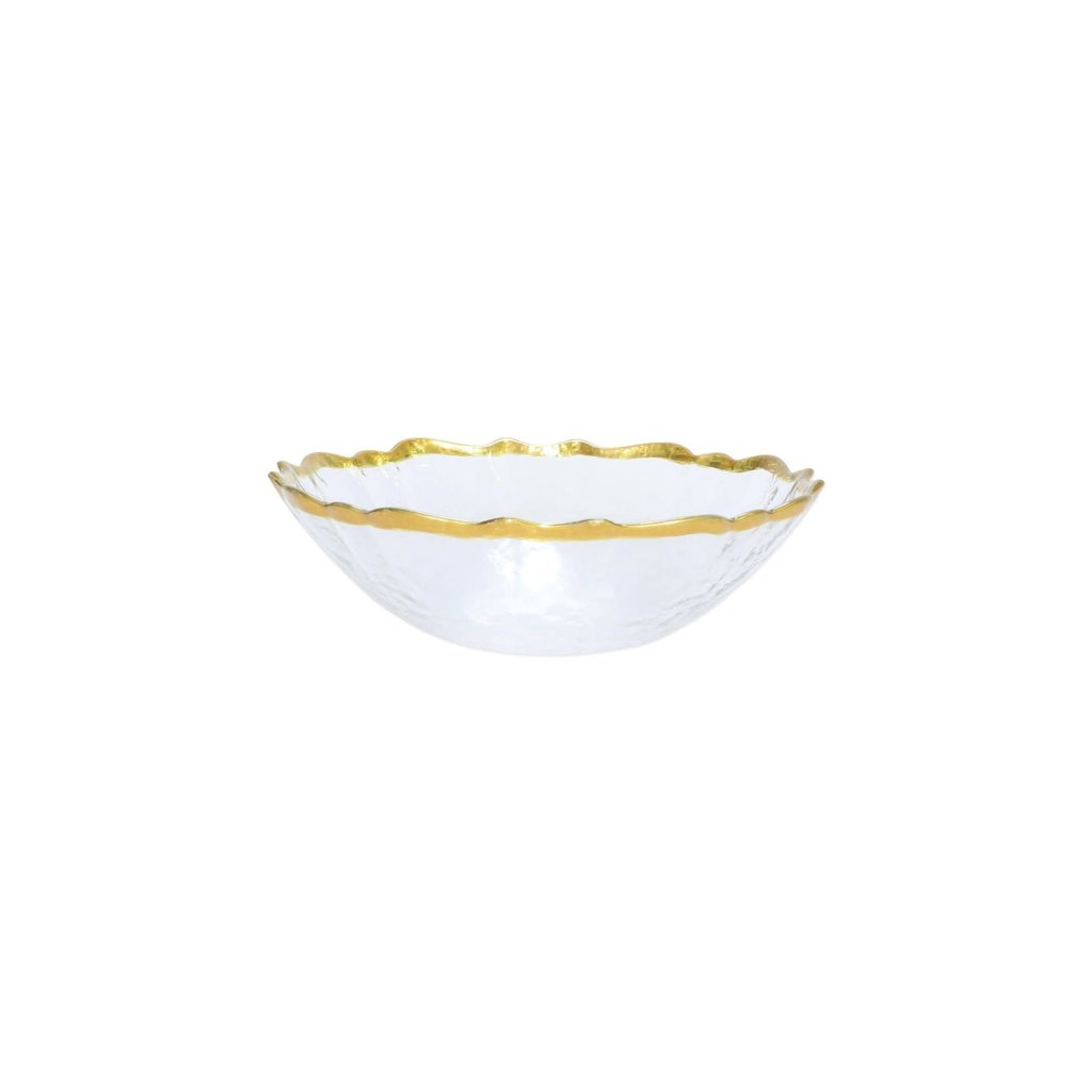 Viva Baroque Glass Clear Small Bowl