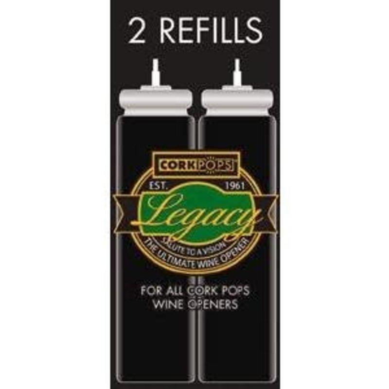 CorkPops CORK POPS Refill Cartridges Box of 2