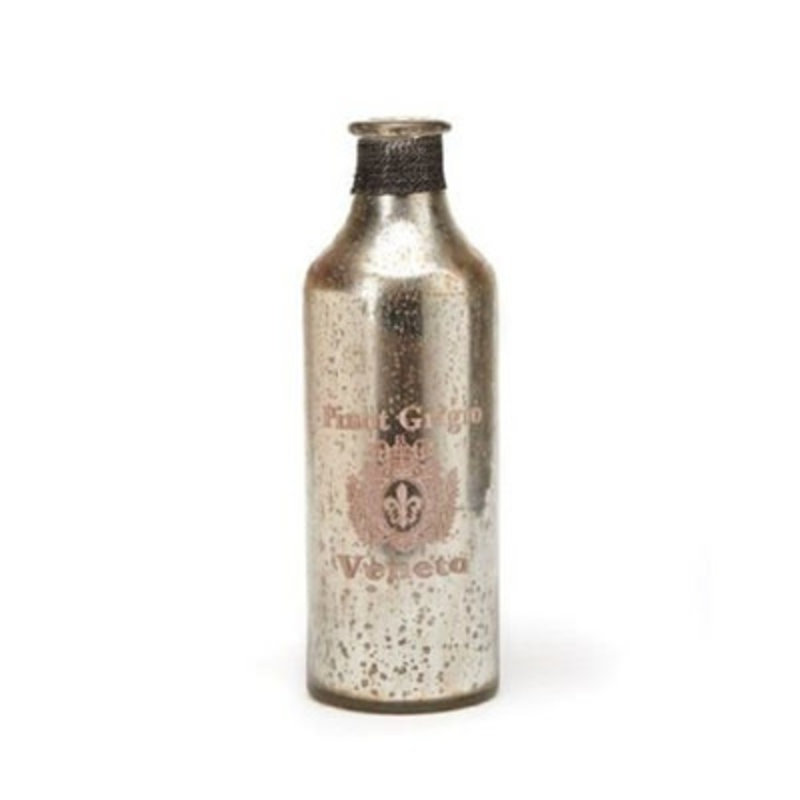 Vietri Vintage Glass Bottle Pinot Grigio Medium Bottle