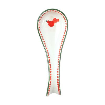 Uccello Rosso Red Bird Spoon Rest