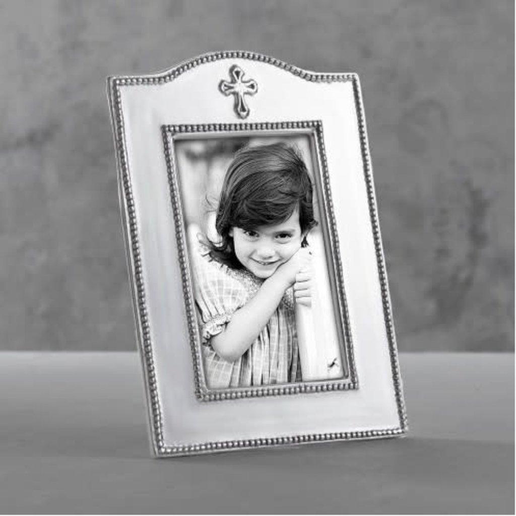 "Beatriz Ball BABY Cross Vertical Frame 4""x6"""