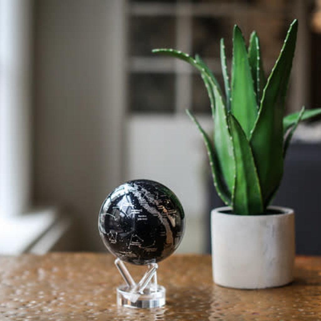 MOVA  International Black & Silver MOVA Globe