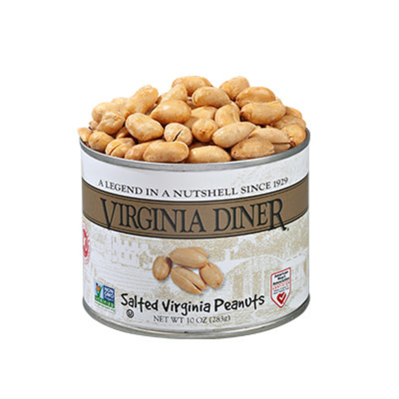 Virginia Diner 10 oz. Classic Salted Gourmet Virginia Peanuts