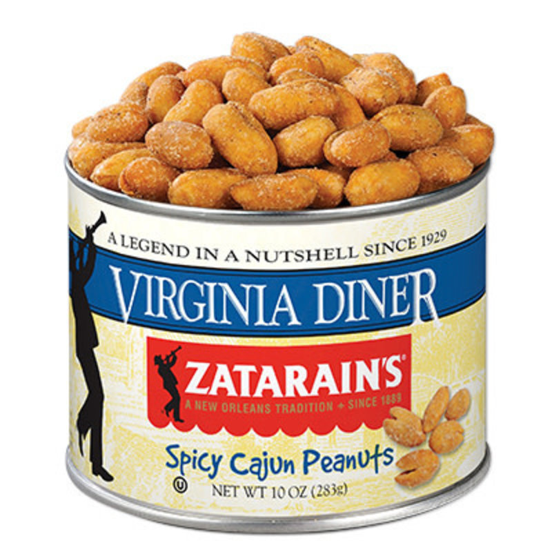 Virginia Diner 10 oz. Smoked Cajun Virginia Peanuts