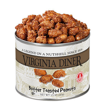 Virginia Diner 10 oz. Classic Butter Toasted Peanuts