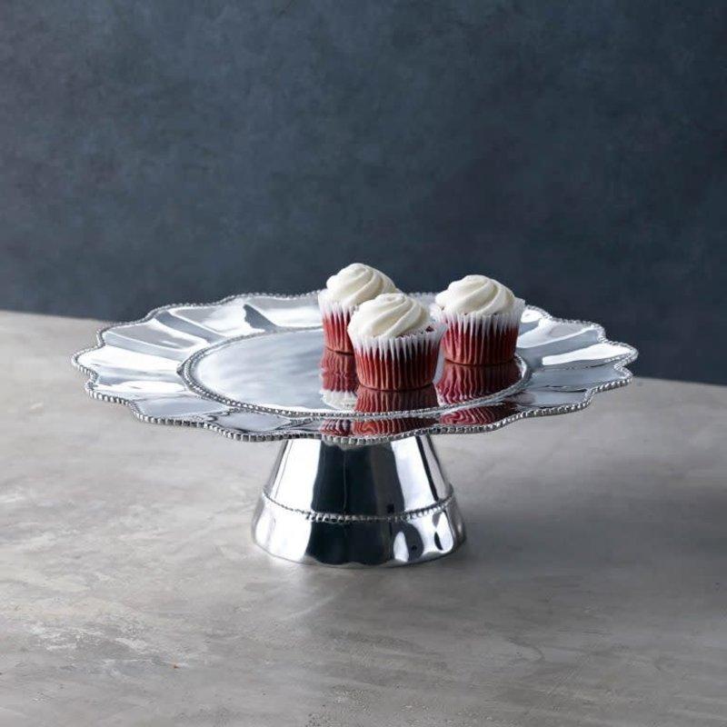 Beatriz Ball Pearl Denisse Pedestal Cake Plate
