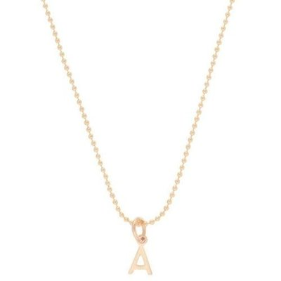 "enewton 16"" Necklace Gold - Respect Gold Charm- R"