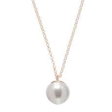 """enewton 16"""" Necklace Gold - Clarity Pearl Charm"""