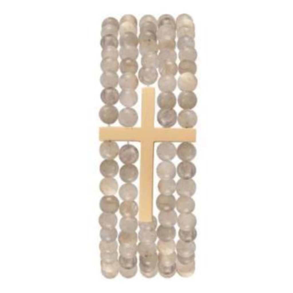 enewton Dream Inspire 5-Strand 4mm Bead Bracelet - Labradorite