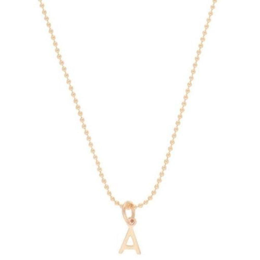 "enewton 16"" Necklace Gold - Respect Gold Charm - B"