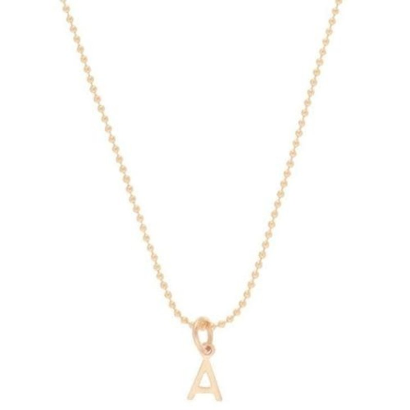 "enewton 16"" Necklace Gold - Respect Gold Charm - B"