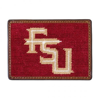 Smathers & Branson Florida State Needlepoint Card Wallet