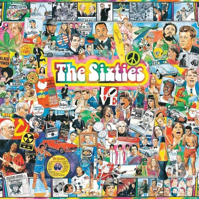 White Mountain Puzzles The Sixties Puzzle