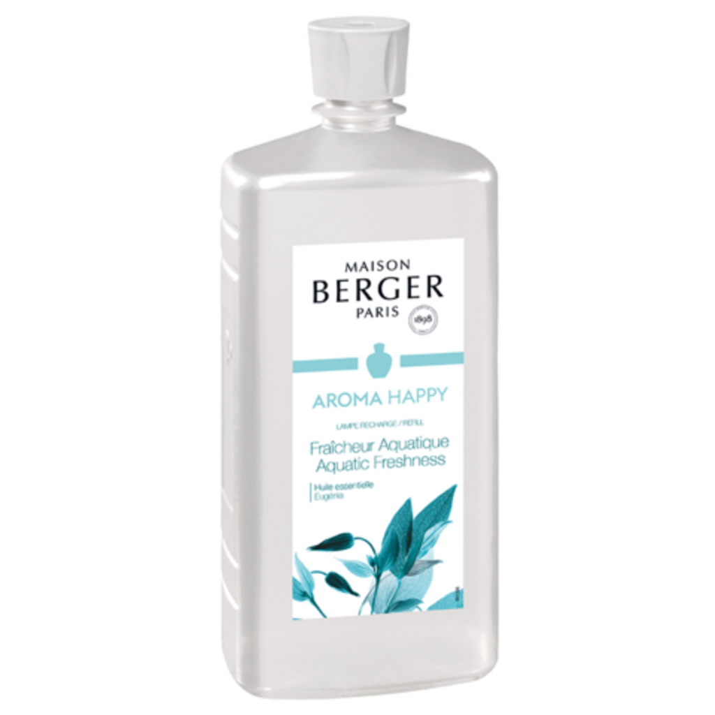 Lampe Berger Aroma Happy Lamp Fragrance- Aquatic Freshness 1L