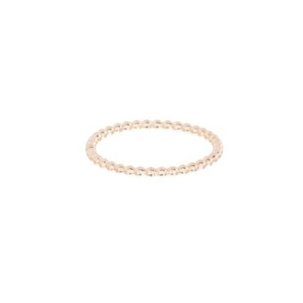 enewton Classic Gold 1mm Bead Ring - Size 8