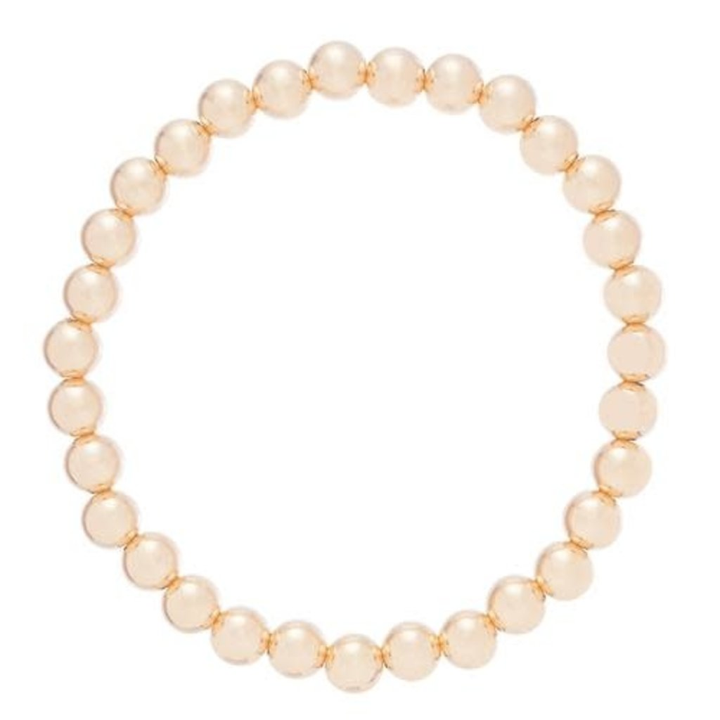 enewton Classic Gold 7mm Bead Bracelet