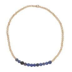 enewton Gold Bliss 2mm bead bracelet Sodalite