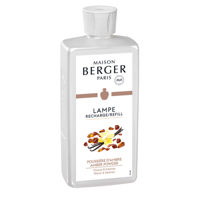 Lampe Berger Amber Powder Lamp Fragrance-500mL