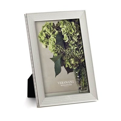 Vera Wang With Love Nouveau Silver 4x6 Frame