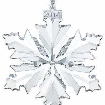Swarovski 2014 ANNUAL EDITION SWAROVSKI CHRISTMAS ORNAMENT