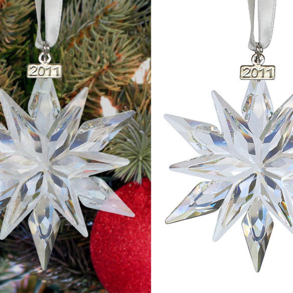 Swarovski 2011 ANNUAL EDITION SWAROVSKI CHRISTMAS ORNAMENT