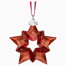 Swarovski 2019 ANNUAL EDITION RED SWAROVSKI CHRISTMAS ORNAMENT