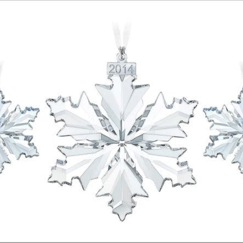 Swarovski 2014 SWAROVSKI CHRISTMAS ORNAMENT SET