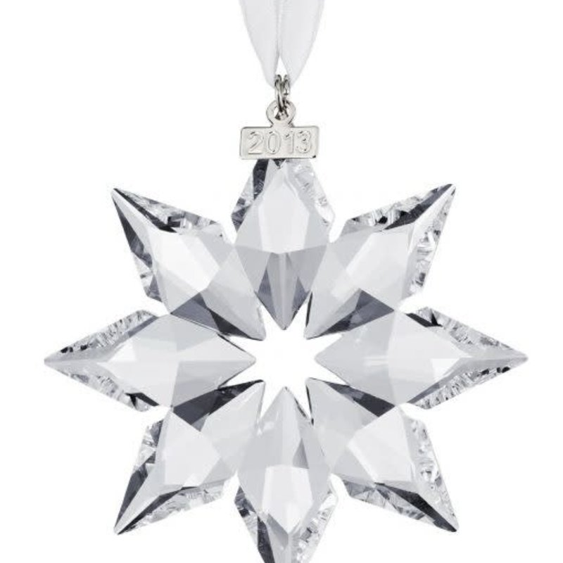 Swarovski 2013 ANNUAL EDITION SWAROVSKI CHRISTMAS ORNAMENT