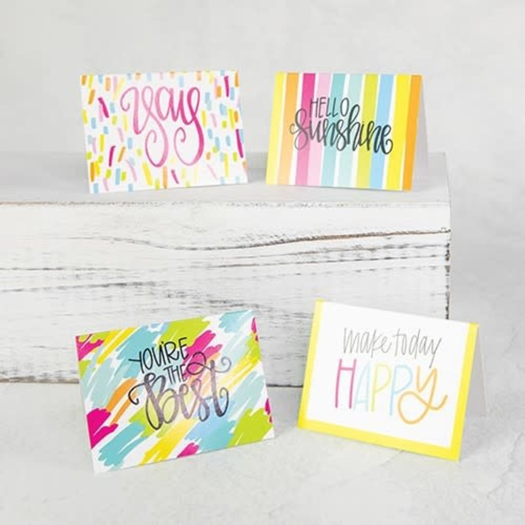 Mary Square All She Wrote Notes Boxed Enclosure Cards