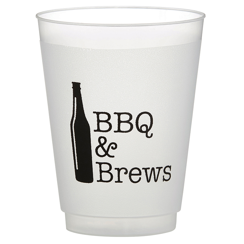 Sips BBQ & Brews Frost Cups (8)
