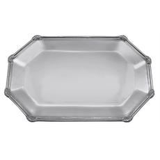Mariposa Rattan Small Octagonal Platter