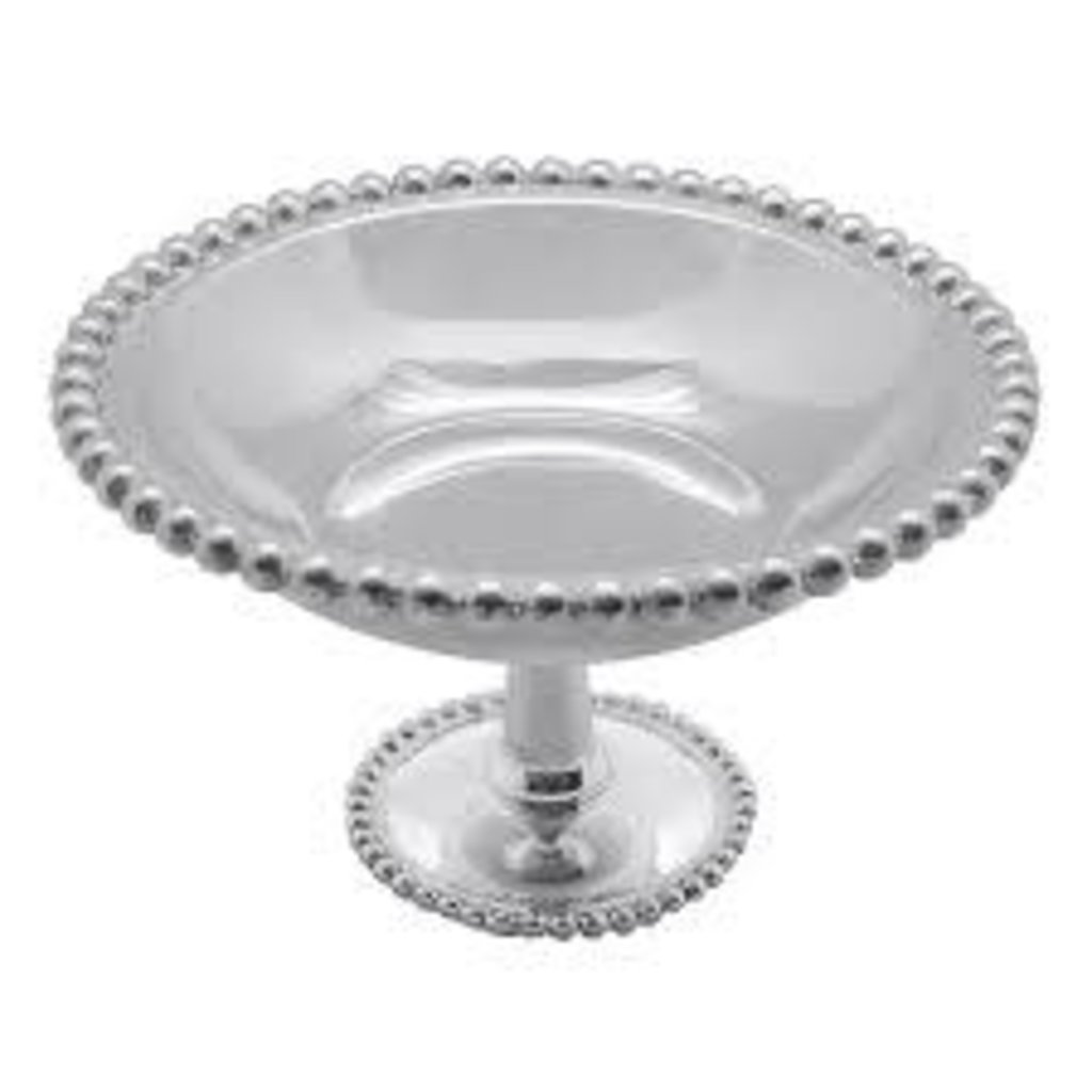 Mariposa String of Pearls Small Footed Candy Dish