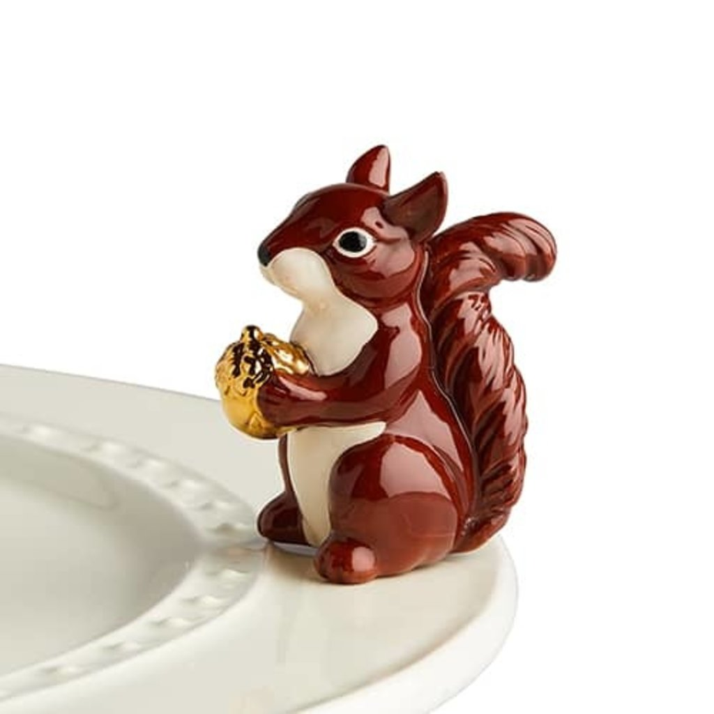 nora fleming mr. squirrel  mini (squirrel)