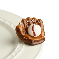 nora fleming catch some fun mini (baseball mitt)