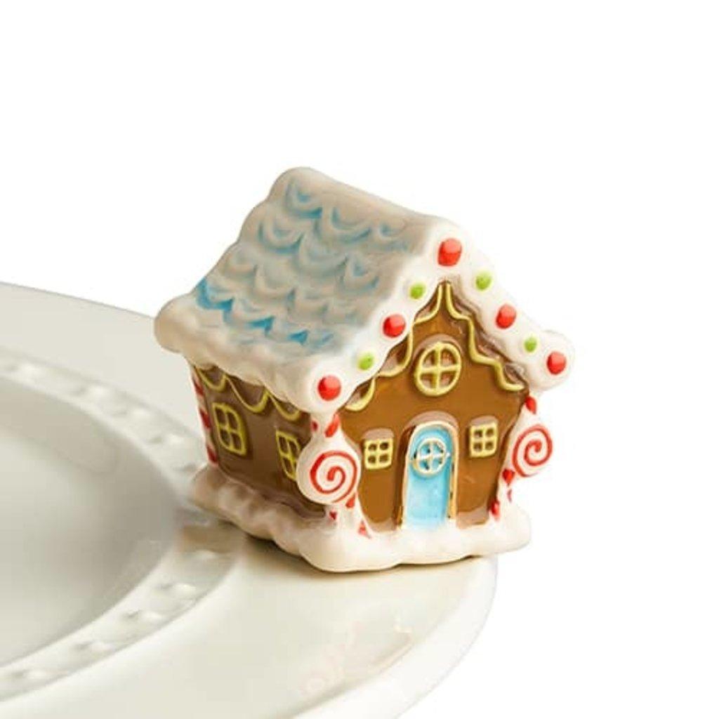 nora fleming candyland lane mini (gingerbread house)